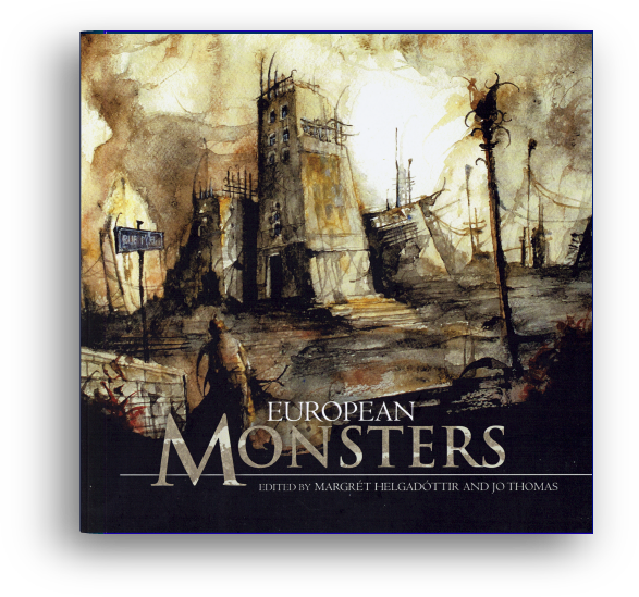 European Monsters – book cover