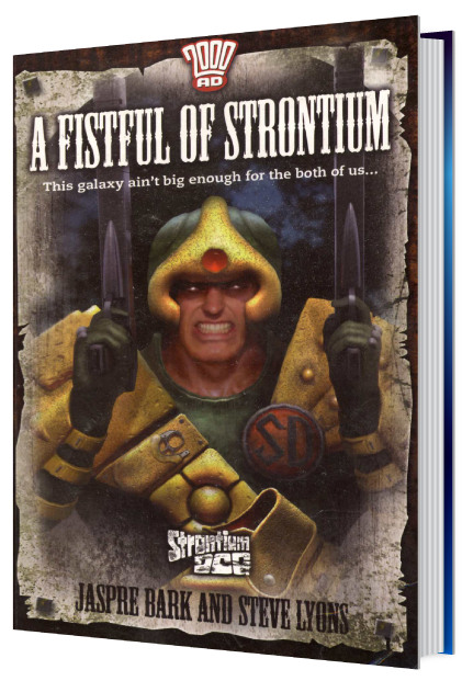 A Fistful of Strontium – book cover