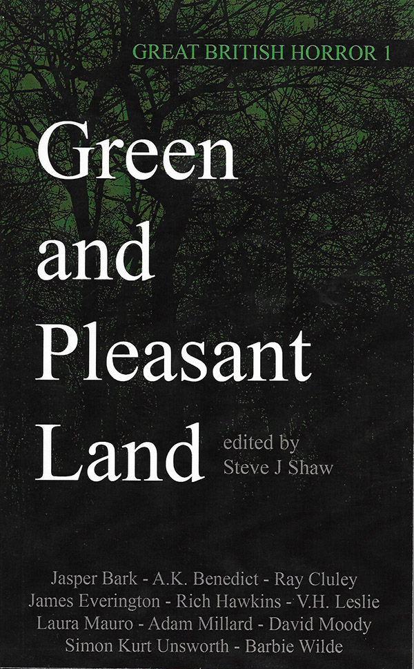 Great British Horror Green and Pleasant -- cover
