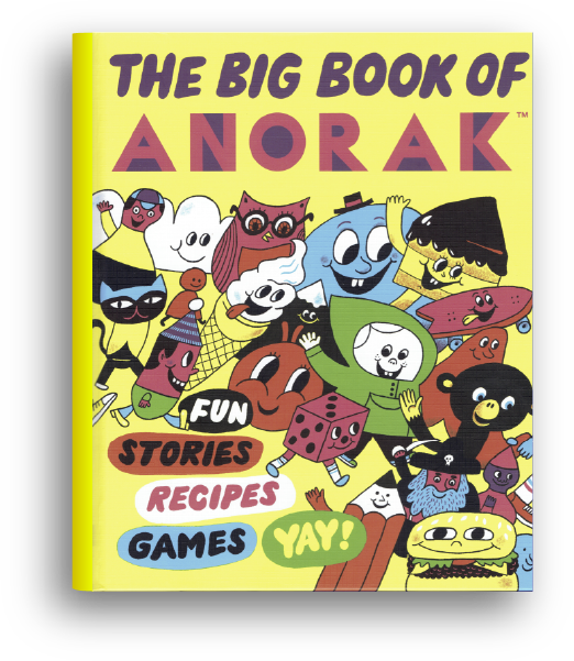 The Big Book of Anorak -- book cover