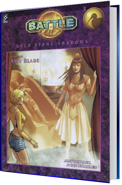 Battle cries 3 - Cold Stone Shadows -- book cover